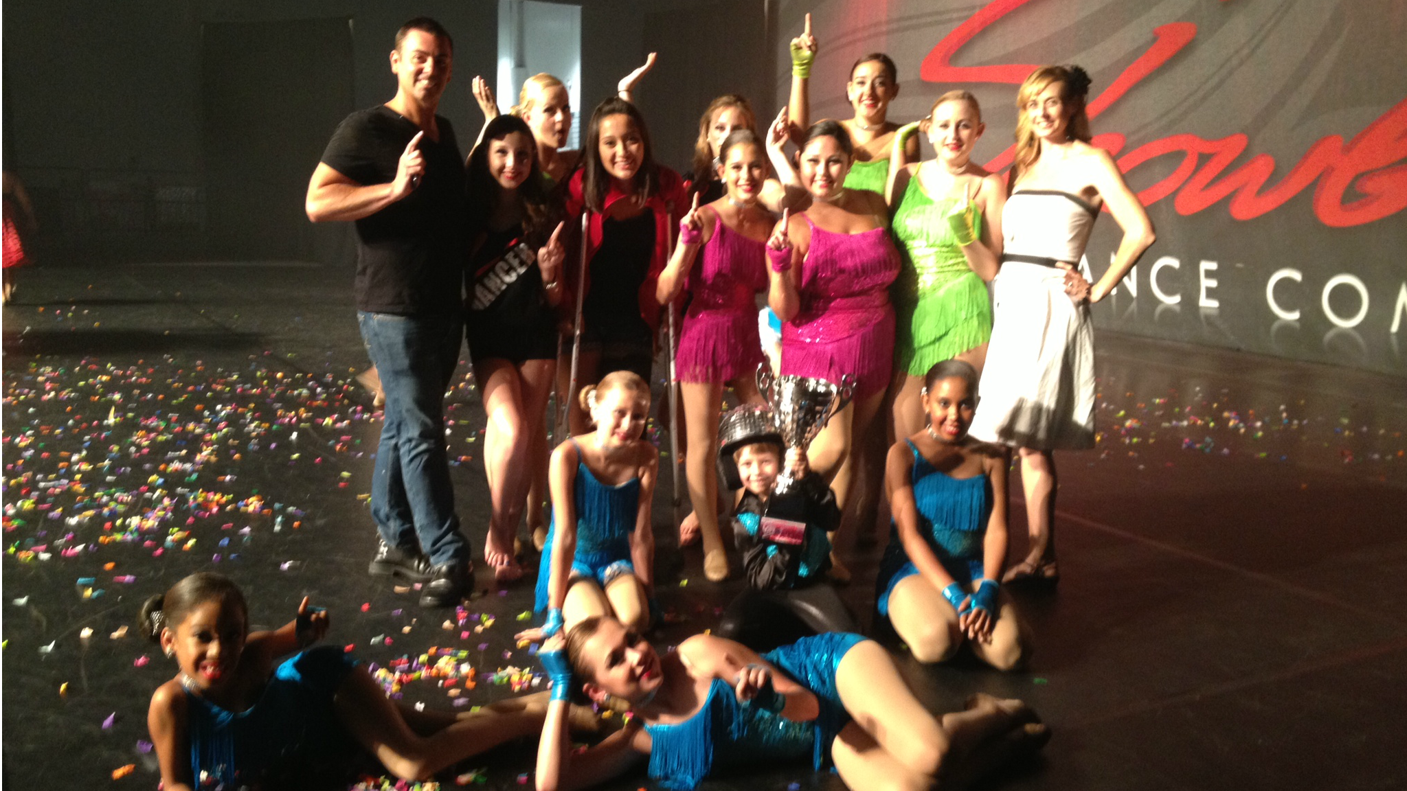 Pamela Ann School of Dance Competition Team 2012/2013 Showbiz Nationals First Place